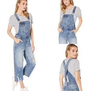 NWOT Free people baggy boyfriend overall size 27